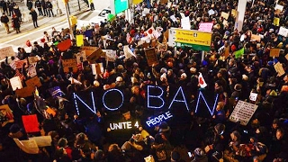 Trump's Muslim Ban Ignites Nationwide Protests