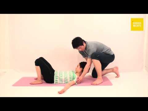 15肩甲挙筋のストレッチ
