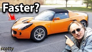 Can this 4 Cylinder Lotus Elise Outperform a Turbocharged Toyota Aristo thumbnail