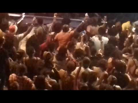 Crazy fans pull off Popcaan off stage in the Cayman Islands
