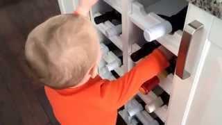 Kid Proofing The Wine Rack