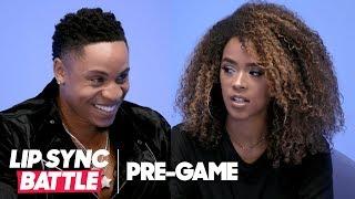 Serayah & Rotimi Pregame Interview | Lip Sync Battle