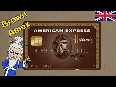 Is This The Rarest American Express Card? (Harrods Amex, UK)