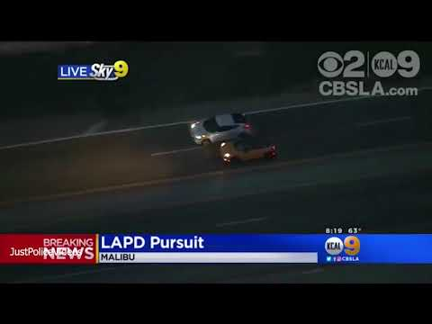 LAPD Police Chase May 25 2018