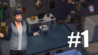 Жизнь в гараже Sims 4 1