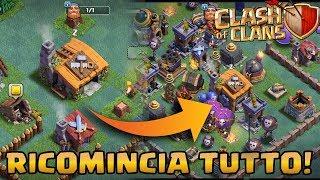Si RICOMINCIA TUTTO! Sala del Costruttore LV.1 vs Sala del Costruttore LV.7 | Clash of Clans ITA