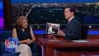 Katie Couric Met The Pope and Stephen Didn't