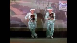 """Gene Kelly, Donald O'Connor """"Поющие под дождём"""" - Начало пути"""
