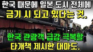 한국 때문에 일본 도시 전체에서 금기 시 되고 있다는 것. 한국 관광객 급감 극복할 타개책 제시한 대마도.