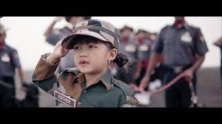 Esther Hnamte(5 years)Feat 3 Assam Rifles,Lunglei, Mizoram  Jana Gana Mana.independence day special