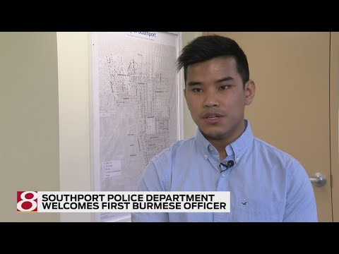 Southport, Indiana, Police Department welcomes first Burmese officer