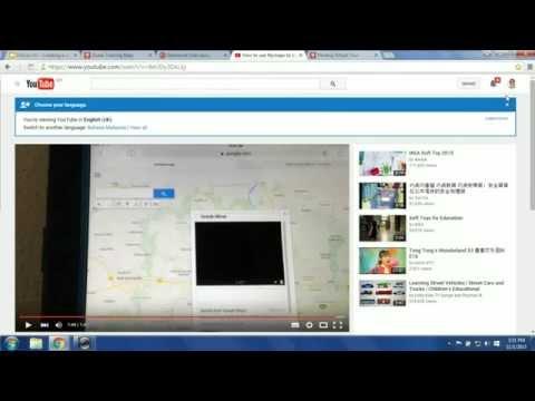 Edu on Air: Virtual Tours using My Maps