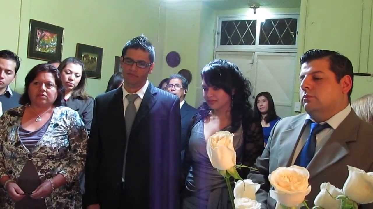 Matrimonio Catolico Y Civil : Ceremonia matrimonio civil paola y claudio youtube
