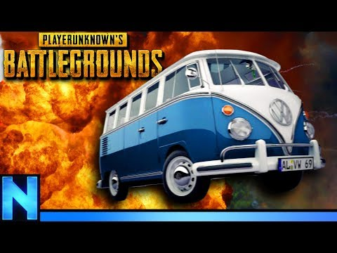 PUBG BATTLE BUS - Mad Max Game