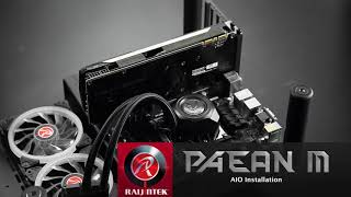 RaiJintek - DESIGNED IN GERMANY, MADE IN TAIWAN - PAEAN M, MICRO ATX / MINI ITX OPEN FRAME CHASSIS