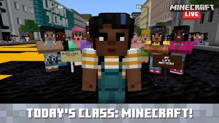 Minecraft Live 2021: Student Projects