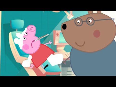 Свинка Пеппа и доктор хомяк   Видео для детей   Мультфильмы для детей   Мультики для малышей