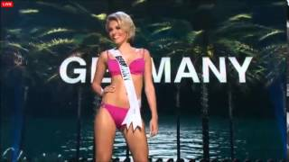 MISS UNIVERSE 2014-2015 PRELIMINARY COMPETITION - GERMANY