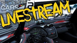 VAMOS TESTAR - PROJECT CARS 2 | LIVESTREAM #216