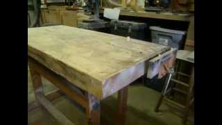 Donnie D's Cheap, Easy But Rugged Woodworking Bench