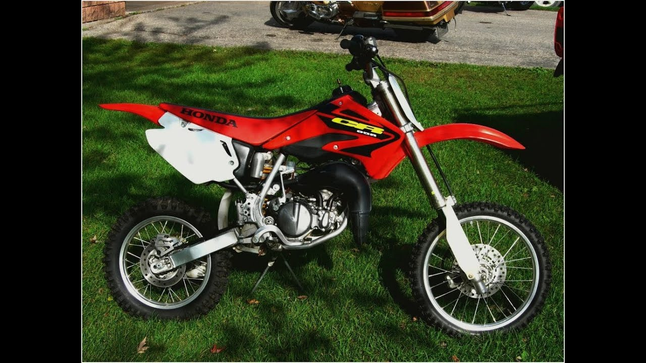 honda cr 85 modified competitive race bike youtube. Black Bedroom Furniture Sets. Home Design Ideas