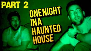 ONE NIGHT IN A HAUNTED HOUSE - SEDAMSVILLE RECTORY (PART 2)