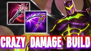 🦇 💪🏻BRUTAL FULL DAMAGE BUILD (BATMAN JUNGLE) | Arena of Valor Batman ROV/AOV Builds