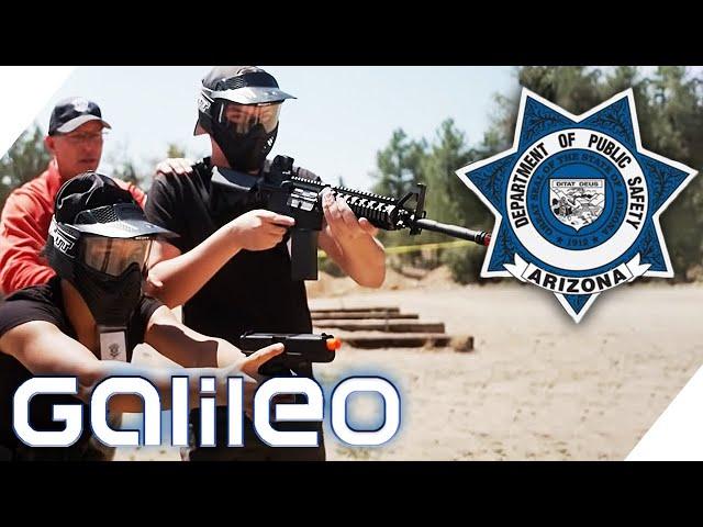 Teen Police Academy - Polizei-Reformen durch George Floyd?    Galileo   ProSieben