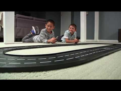 DMX Slot Car Racing System w/ 2 Race Cars & Track Change Technology on QVC