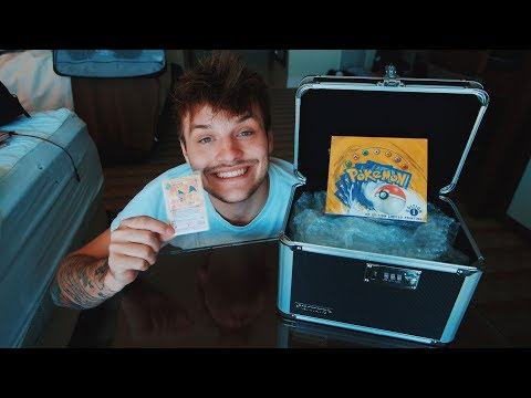 Purchasing The Rarest $54,300 Pokemon Card Box On The Planet (1st Edition Shadowless Base Set)