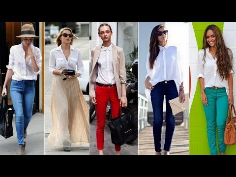 C чем и как носить белую джинсовую куртку
