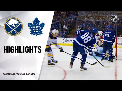 09/20/19 Condensed Game: Sabres @ Maple Leafs