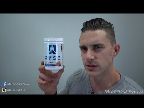 Ryse Up Pre-Workout Supplement Review - MassiveJoes.com Raw Review