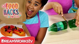 Gummy Pizza Prank + More Gummy Food Clones | FOOD HACKS FOR KIDS