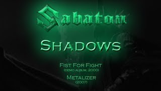 Sabaton - Shadows (Lyrics English & Deutsch)