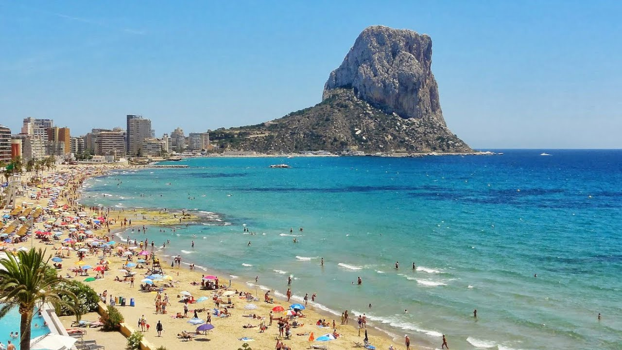 Calpe alicante costa blanca valencia spain youtube - Office tourisme calpe espagne ...