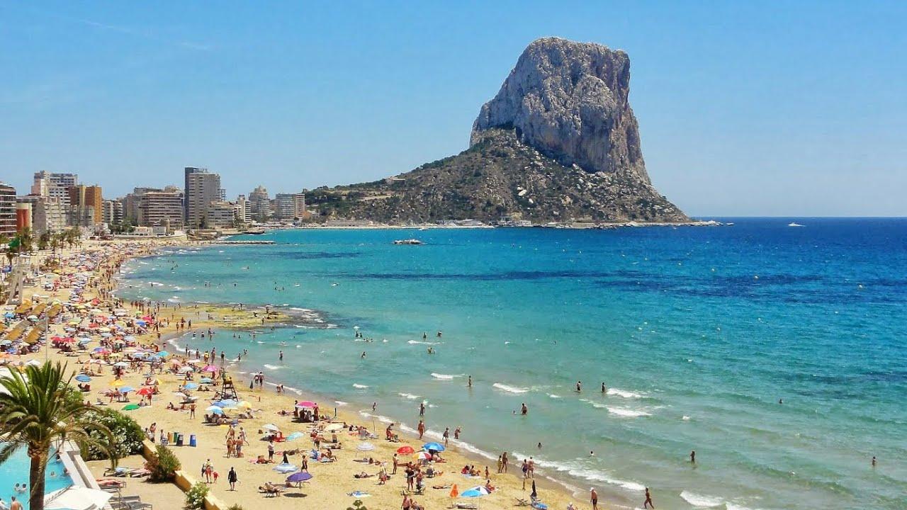 Calpe Alicante Costa Blanca Valencia Spain Youtube