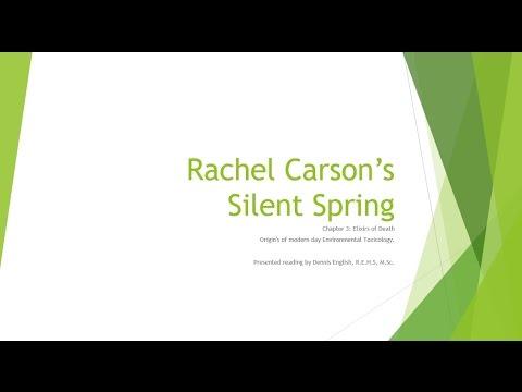 Rachel Carson's Silent Spring Ch3: Elixirs of Death
