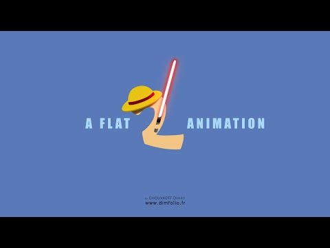 A Flat Animation 2 - After Effects motion design - Tutorial inc