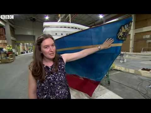 Model of Royal Yacht Britannia to parade down The Mall   BBC News