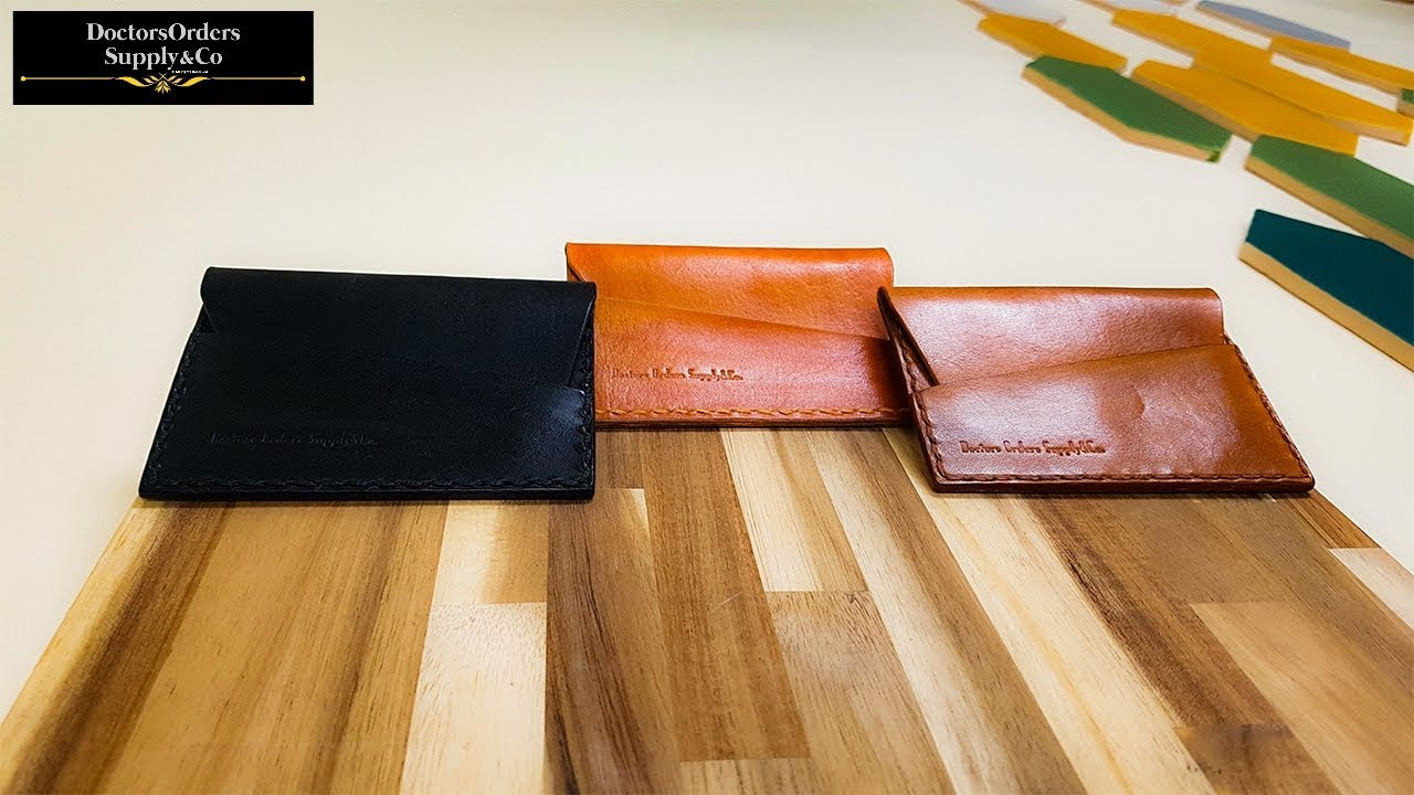 Assembly #33 Making Of English Bridle Envelope Wallet - The Angareion