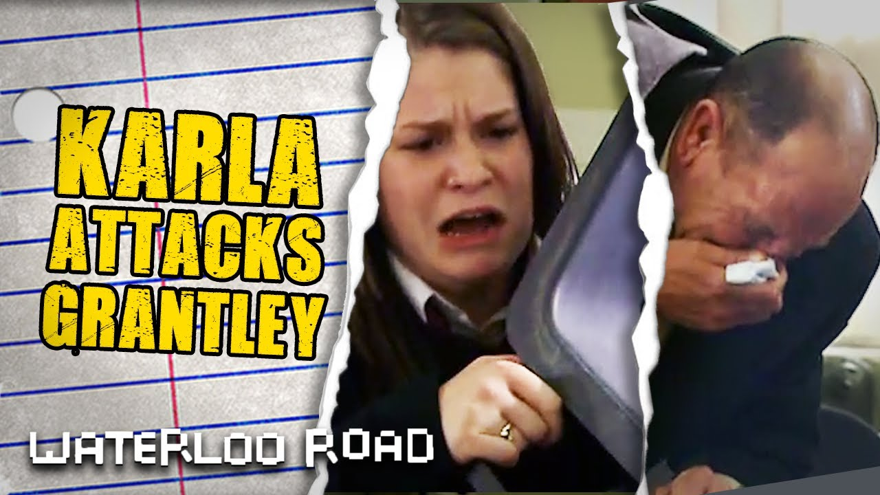 Download Karla Clocks Grantley With a Chair in Self Defence | Waterloo Road