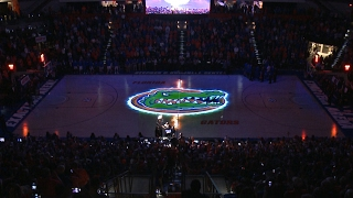 Florida Basketball - Pregame Court Projection