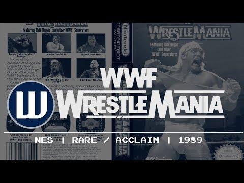 History of WWE Video Games - WWF...