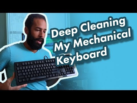 Cleaning My Das Ultimate Model S Mechanical Keyboard