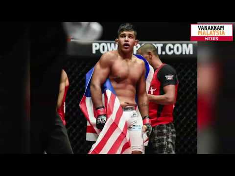 "Agilan ""Alligator"" Thani MMA Fighter"