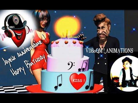 Johnny Rock Joyeux Anniversaire Happy Birthday Youtube