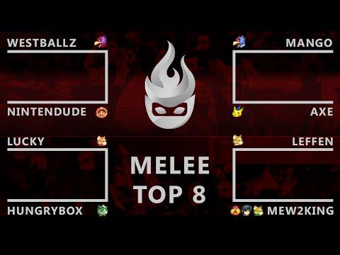 Paragon LA - Melee Top 8 - Smash Melee - SSBM