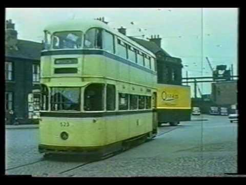 Tram Ride Through Attercliffe 1960
