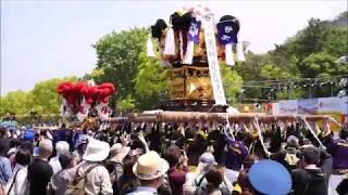 2019 丸亀お城まつり太鼓台競演